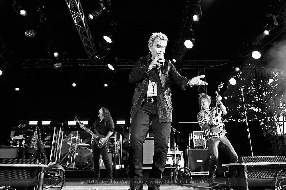 Billy Idol, Tanzbrunnen Köln, 17. Juli